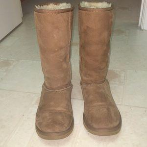 Chestnut Sheepskin Boots